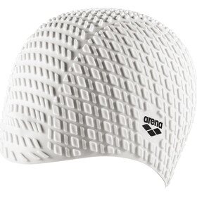 arena Bonnet Silicone Swimming Cap white